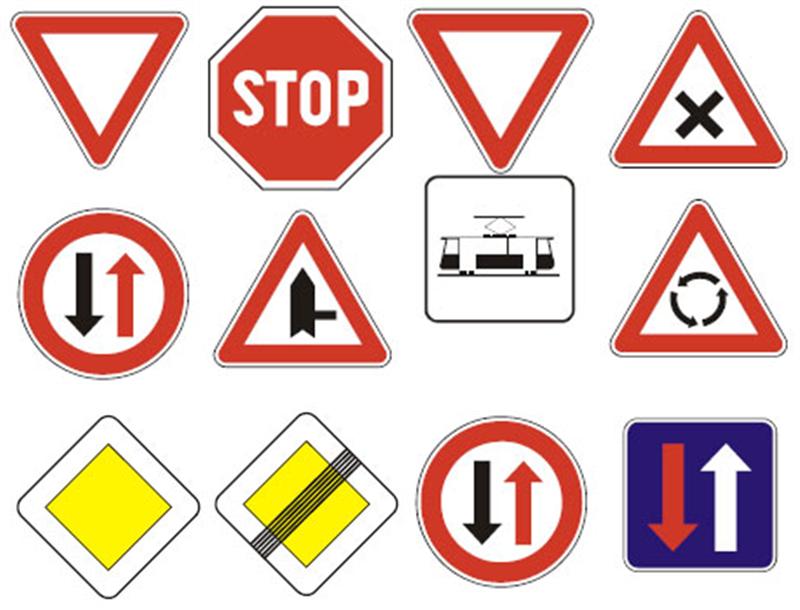 dopravné značky.png (800×610) Škôlka, Deti, Dopravné