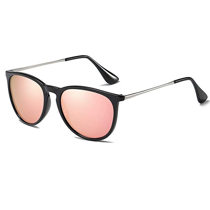 5c4a6089b8 Dollger Retro Round Sunglasses Polarized brand Style Women s Classic  Vintage Designer UV400 Protection  Sunglasses