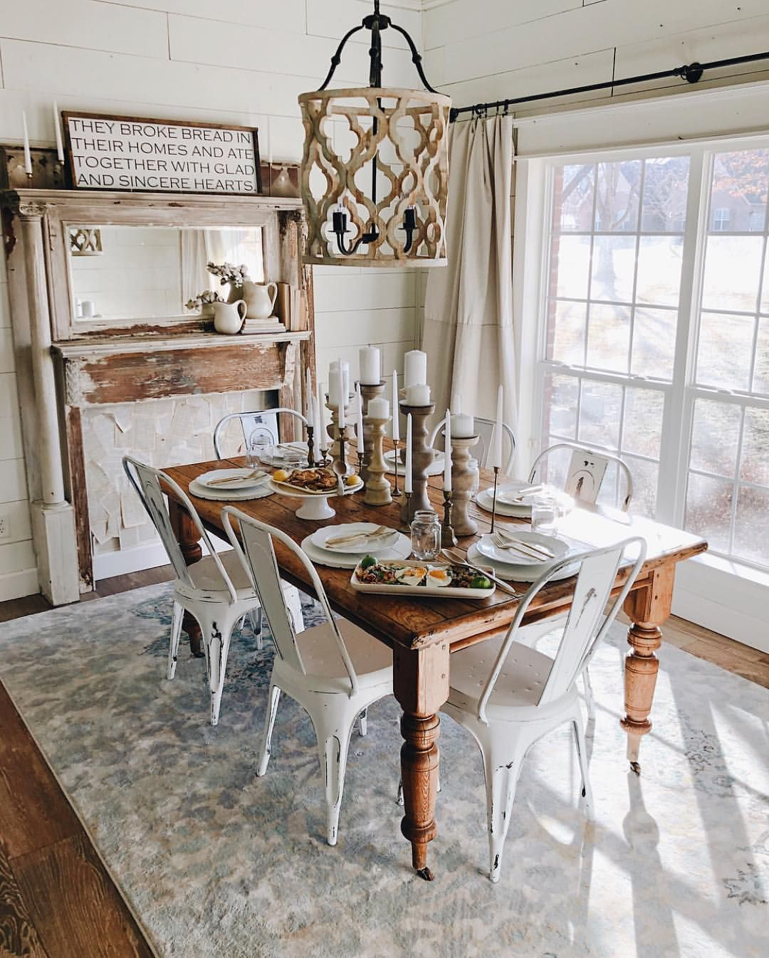 """P a i n t e d  F o x  H o m e™ on Instagram """"The SEASON OF LOVE SALE ends on SUNDAY! Updates    Things have been CrAzY busy around here with the launch of The Cotton Stem Curated…"""" is part of Farmhouse dining room - 2,514 Likes, 23 Comments  P a i n t e d  F o x  H o m e™ (@paintedfoxhome) on Instagram """"The SEASON OF LOVE SALE ends on SUNDAY! Updates    Things have been CrAzY busy around here with the…"""""""