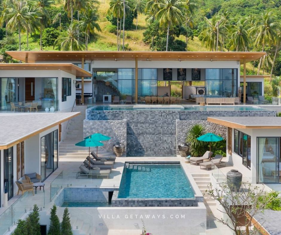 We Love The Modern Design Of This Large Villa In Chaweng