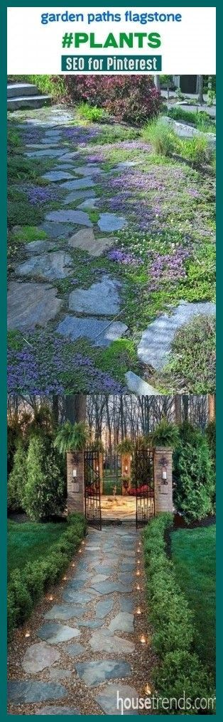 Photo of Garden paths flagstone #plants #seotips #seo #trending. garden paths and walkway…