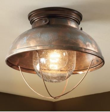 Cabela S Grand River Lodge Fisherman Ceiling Light