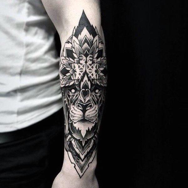 Floral Forearm Guys Tattoo Sleeve Ideas