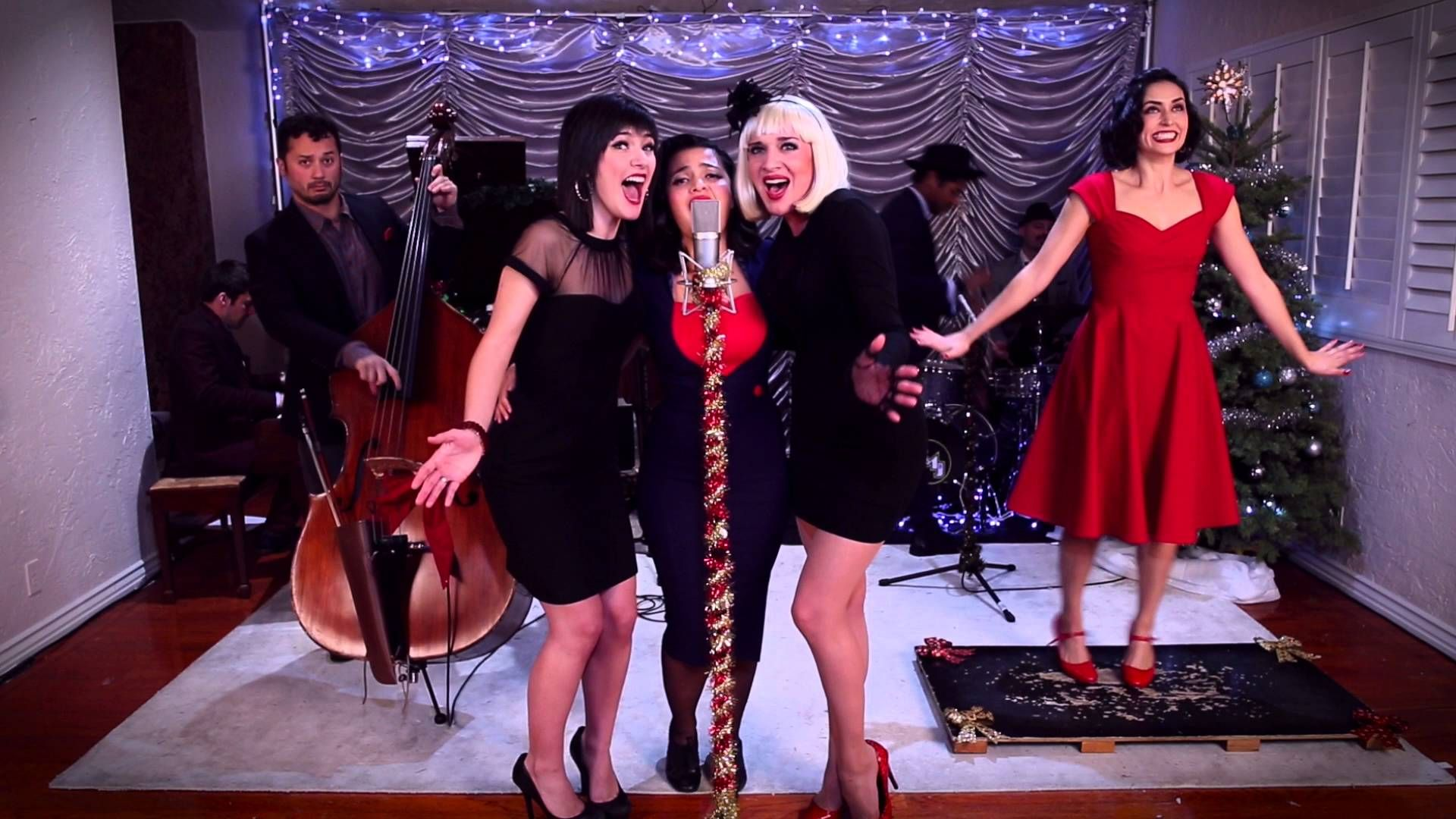 Last Christmas Vintage Andrews Sisters Style Wham