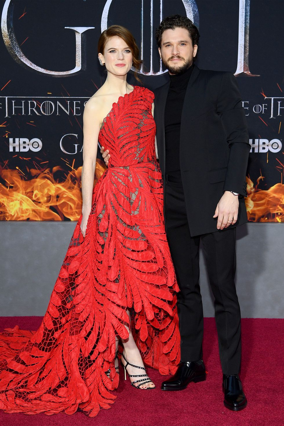 Rose and Kit, Game of Thrones Season 8 Premiere, New York