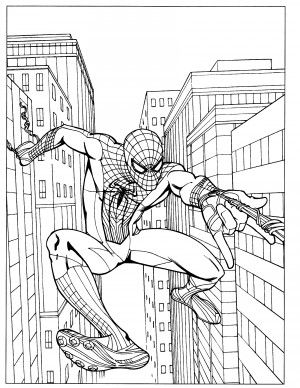 Amazing Spiderman Coloring Pages 30 | Spiderman coloring ...