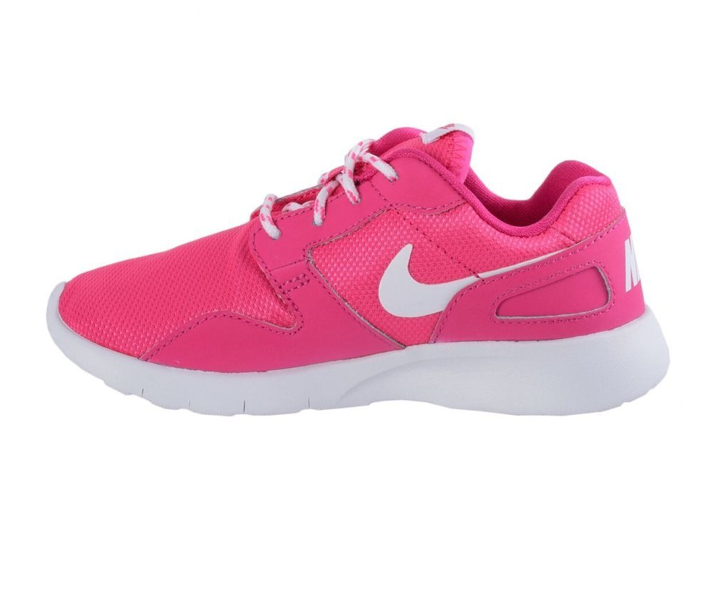 white and hot pink nikes