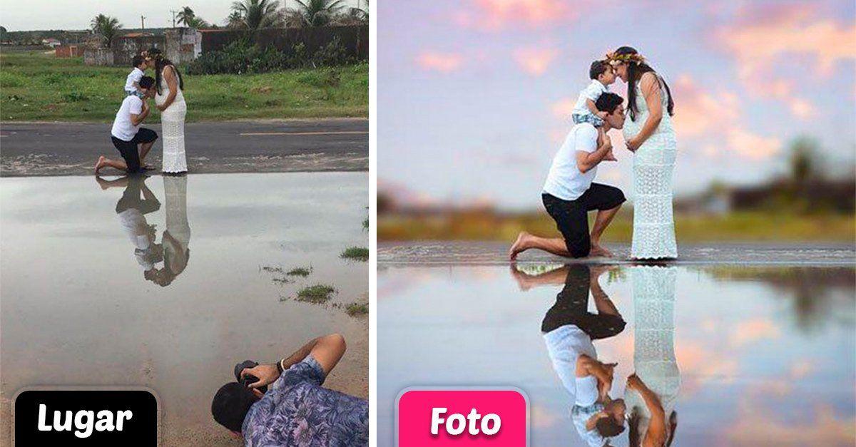 Hábil fotógrafo vuelve a sorprender a Internet y muestra la magia detrás de sus fotografías