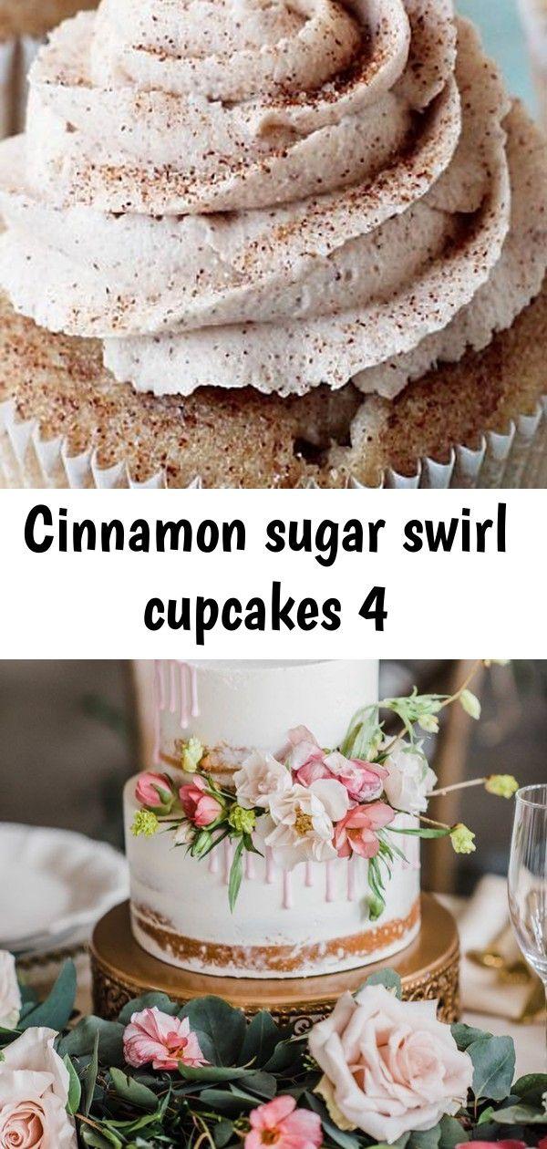 Cinnamon sugar swirl cupcakes 4 #lemonbuttercream