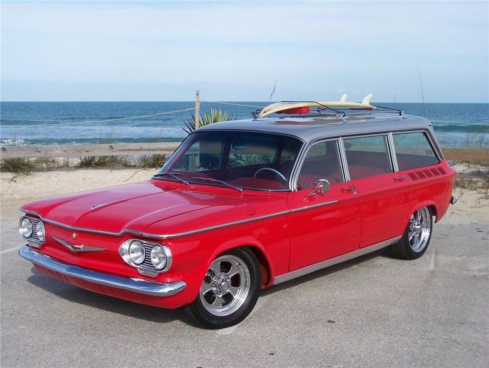 Sold At Palm Beach 2009 Lot 22 1962 Chevrolet Corvair Custom Station Wagon Chevrolet Corvair Chevy Corvair Station Wagon