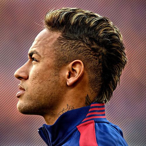 17 Best Neymar Haircuts 2021 Update Neymar Jr Hairstyle Soccer Players Haircuts Hairstyle Neymar
