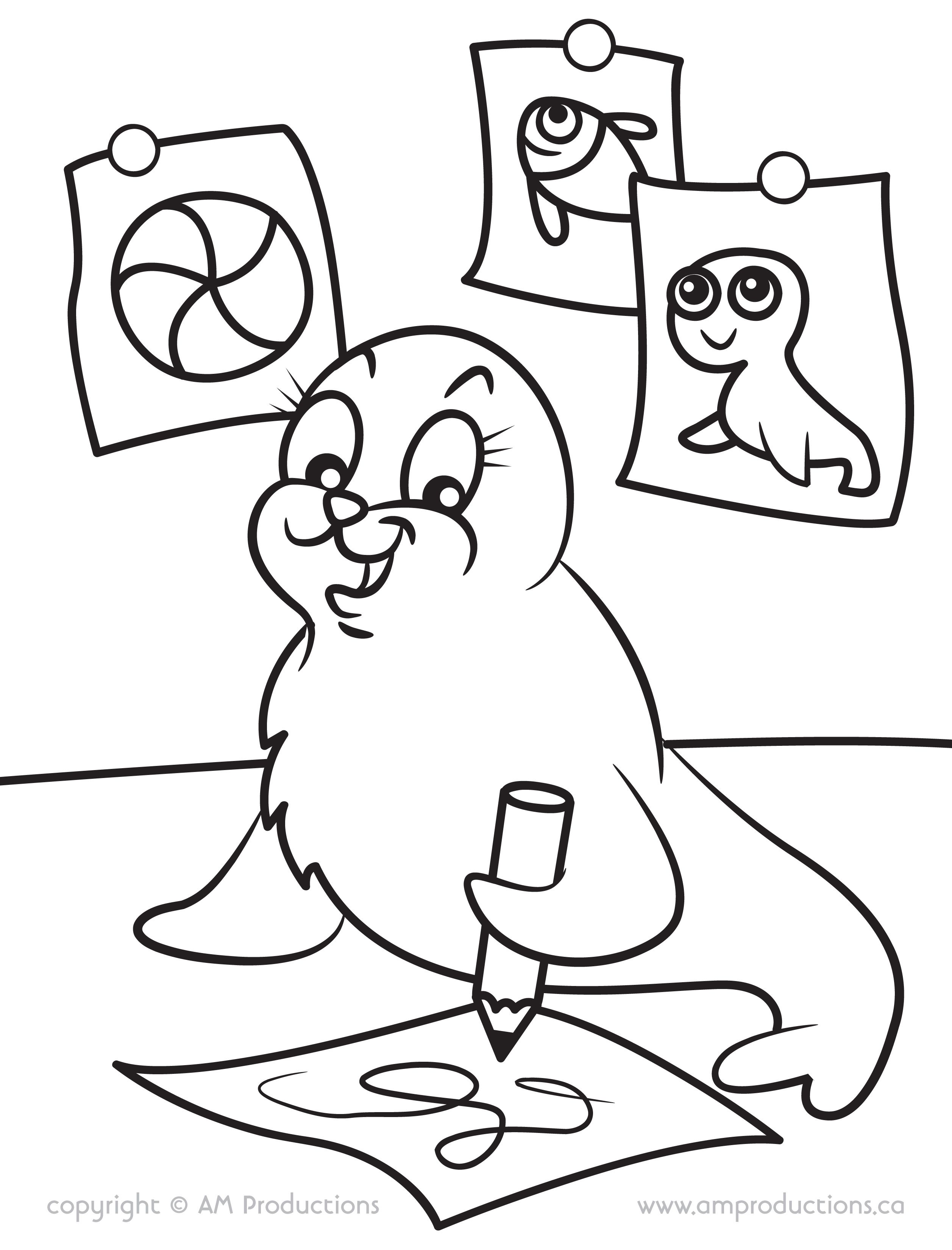 A page from our Zoo Coloring Book. Download it and color away! www ...
