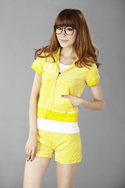 Http Www Bagsandtracksuits Com Juicy Couture Orignal Velour Short Tracksuit Yellow P 1135 Html Juicy Couture Orig Velour Shorts Juicy Couture Tracksuit