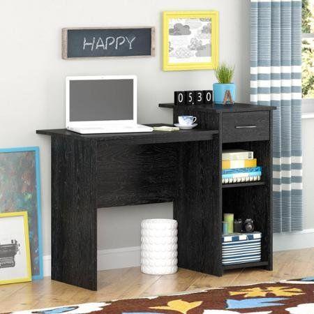 Kids Desks Mainstays Student Desk Adjustable Shelf Black Ebony Ash Details Can Be Found By Clicking On The Image Home Office Furniture Student Desks Furniture