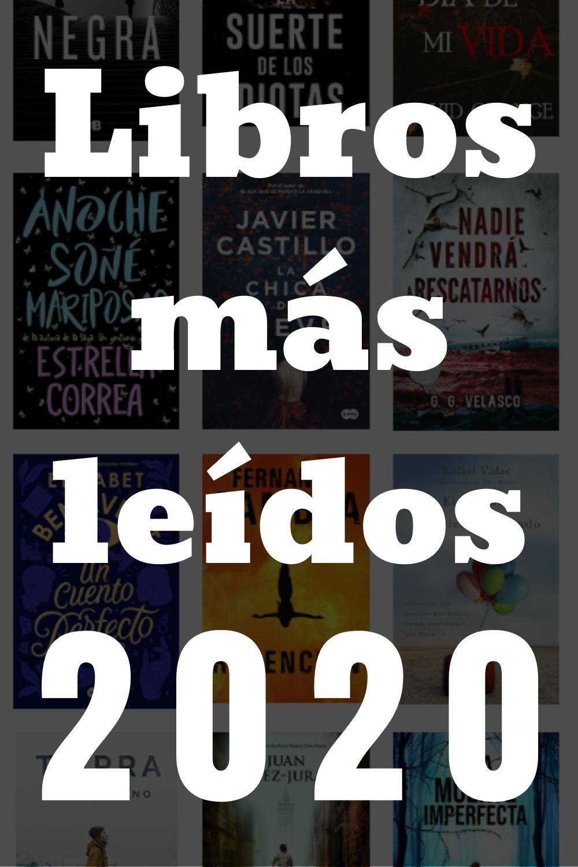 Libros Más Leídos 2020 Libros Leer Lectura