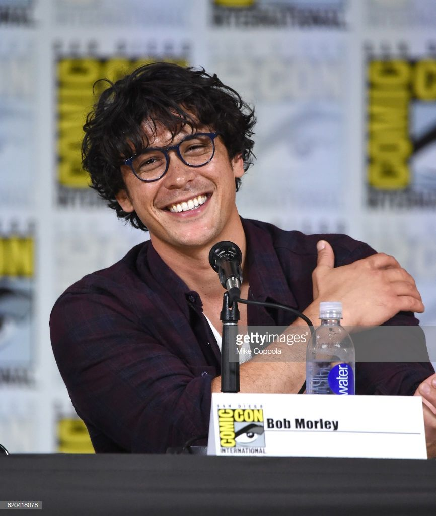 Actor Bob Morley Speaks Onstage At Comic Con International 2017 The