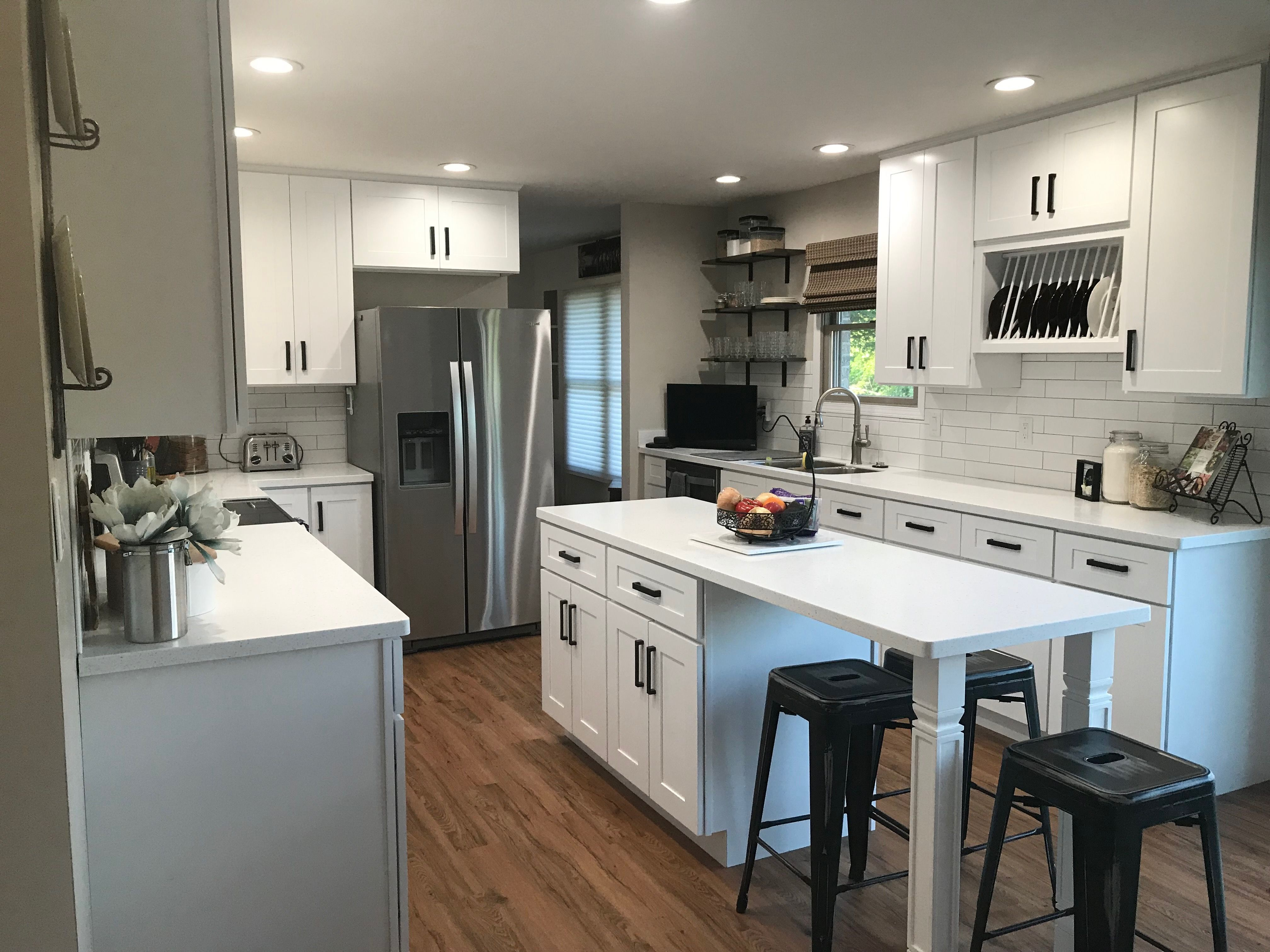 Lily Ann Cabinets White Shaker Kitchen Home Design Living Room Rustic Kitchen Design Rustic Kitchen