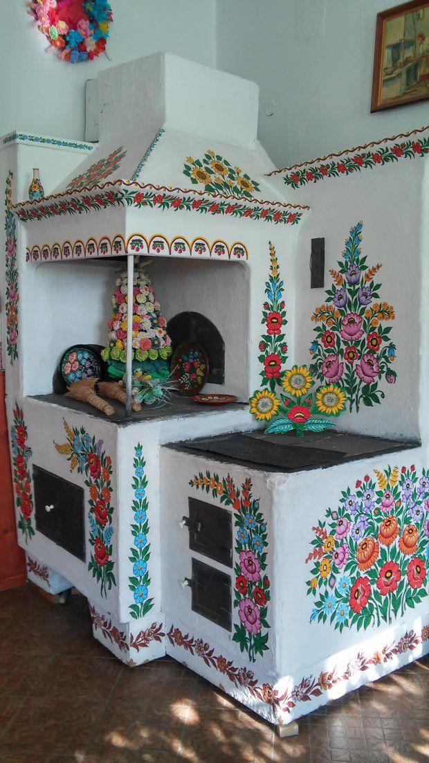 Zdjecie Nr 2 W Galerii Zalipie Wies W Kwiaty Malowana European Home Decor Decor Home Decor