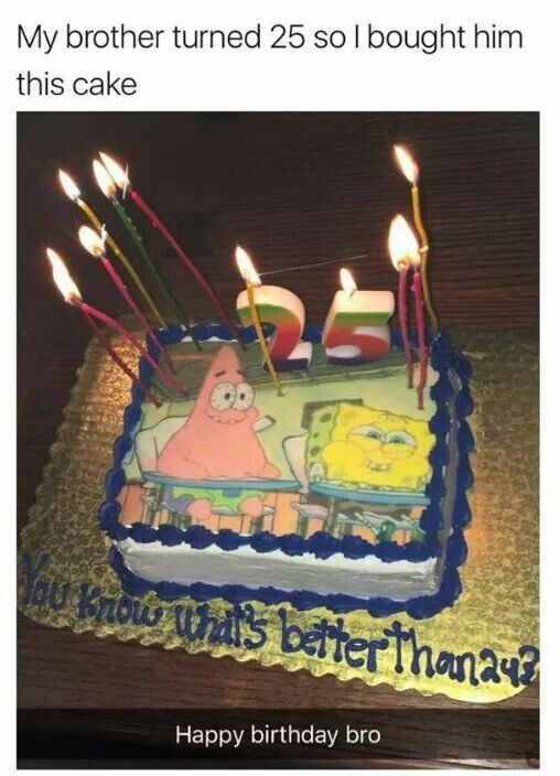 I Better Get This Cake Makes Me Laugh Funny Spongebob Memes