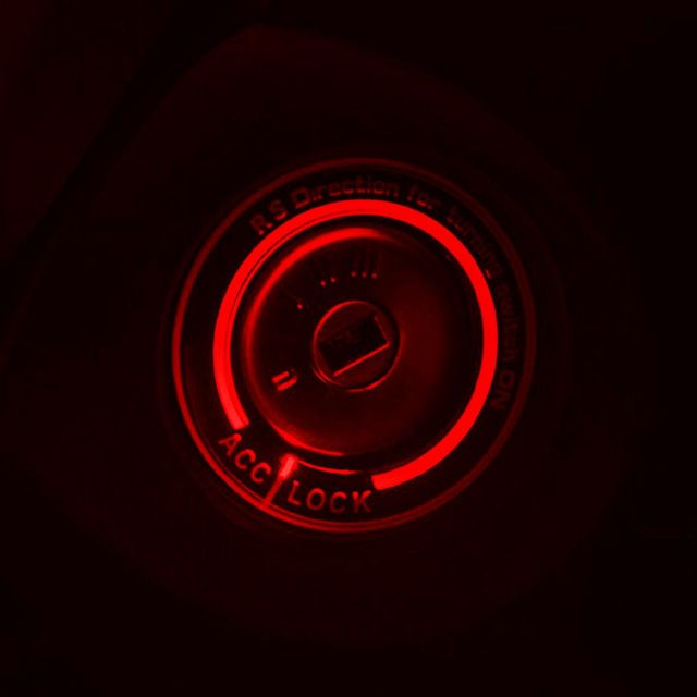 Car Light Led Ignition Switch Cover Ring Key Ring Decoration Stickers For Ford Focus 2 Focus 3 2005 2011 2012 Ford Focus Ford Focus 2 Chevy Cruze Accessories
