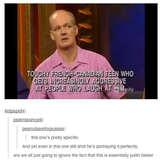 Predicting Justin Bieber before he was famous...  // funny pictures - funny photos - funny images - funny pics - funny quotes - #lol #humor #funnypictures