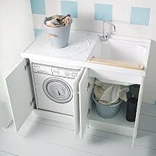 lavatrice mobile lavabo da lavatoio mobile lavabo per lavatrice con ...