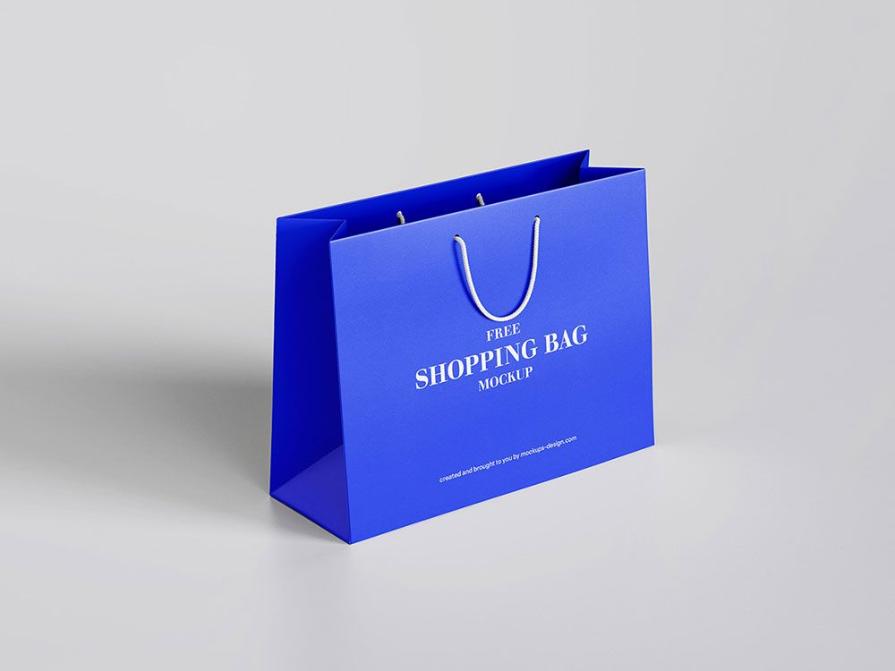 Download Free Paper Shopping Bags Mockup Mockuptree Bag Mockup Photoshop Mockup Free Shopping Bag Design