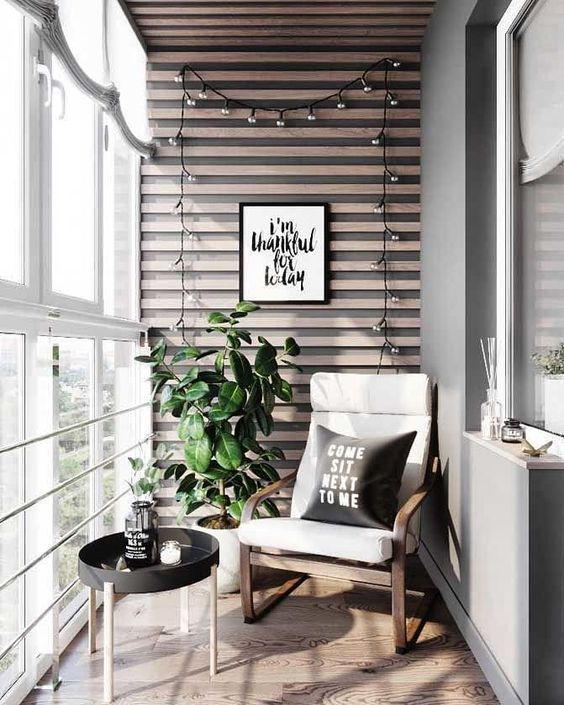 Small Balcony Decor Ideas | Duplex House Plans Kleine Balkondekorideen | #kleinerbalkon