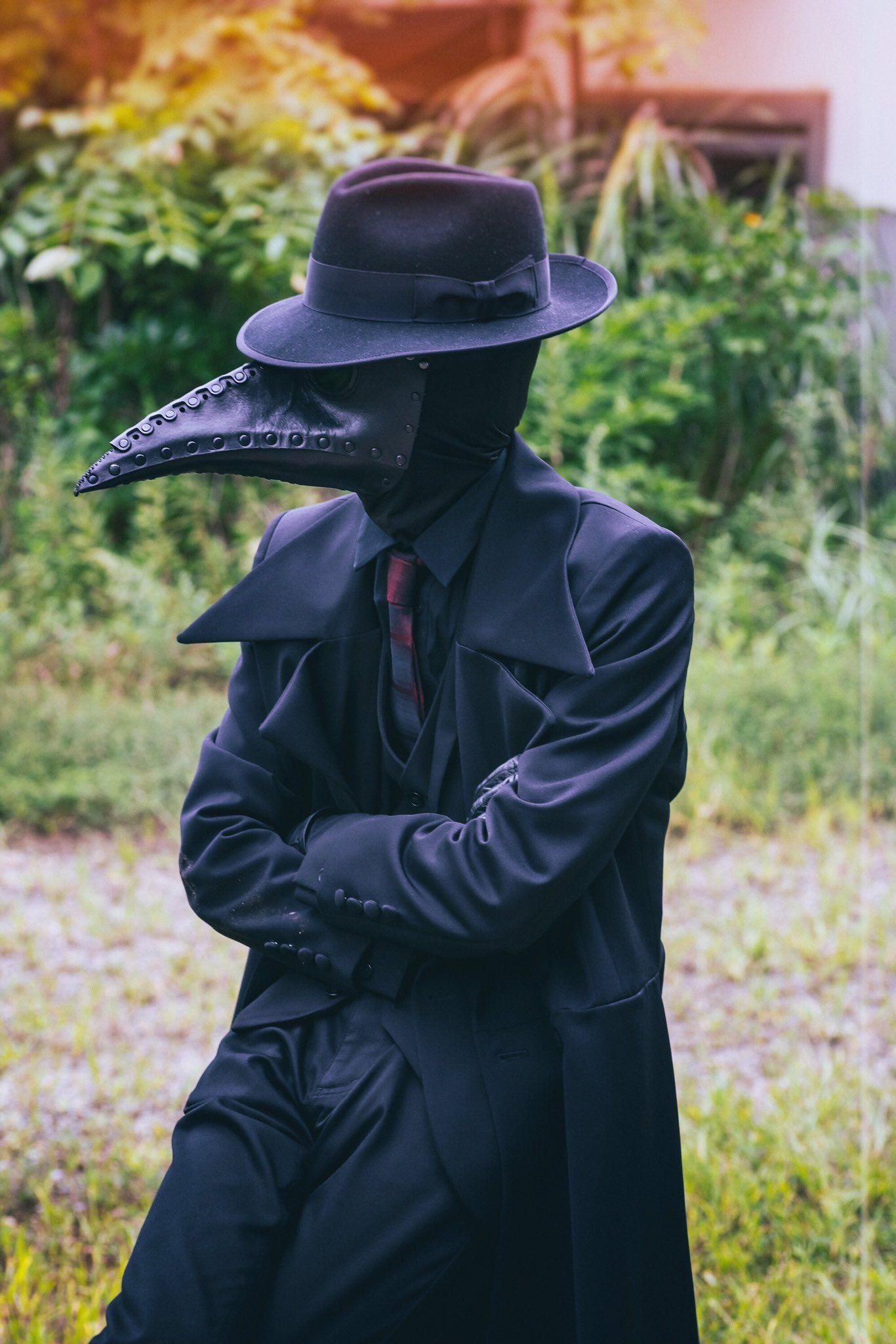 煮付 Nitsuke on Twitter | Plague doctor, Plague mask, Doctor ...