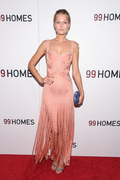 Model Toni Garrn - '99 Homes' New York Screening - September 17, 2015
