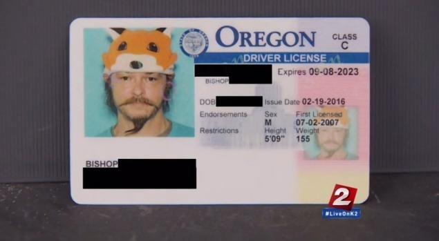 oregon dmv drivers license address sticker