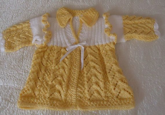 Hand Knitted Baby Set.... for a small by RenisDesignermodelle