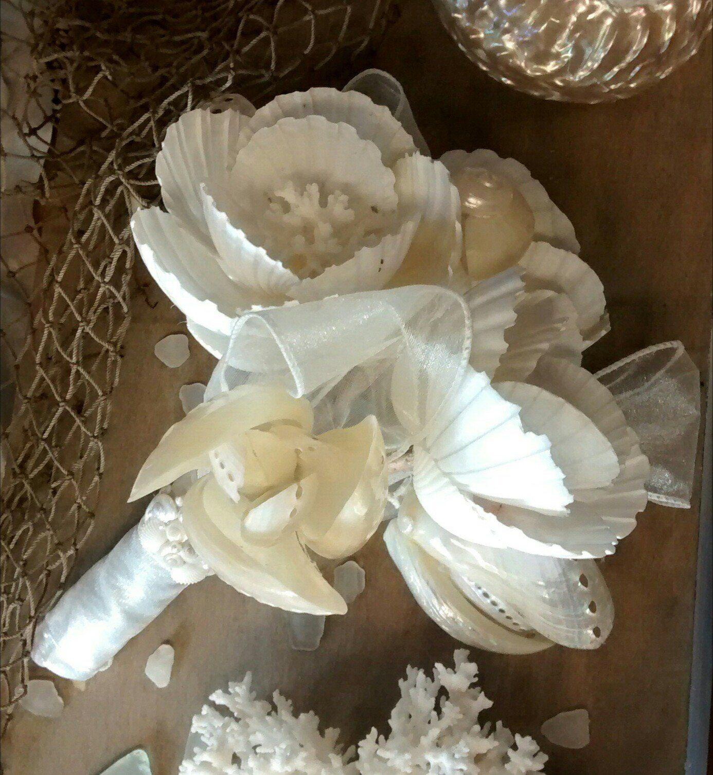 Seashell Bridal Bouquet Pinterest Bridal Bouquets Flower