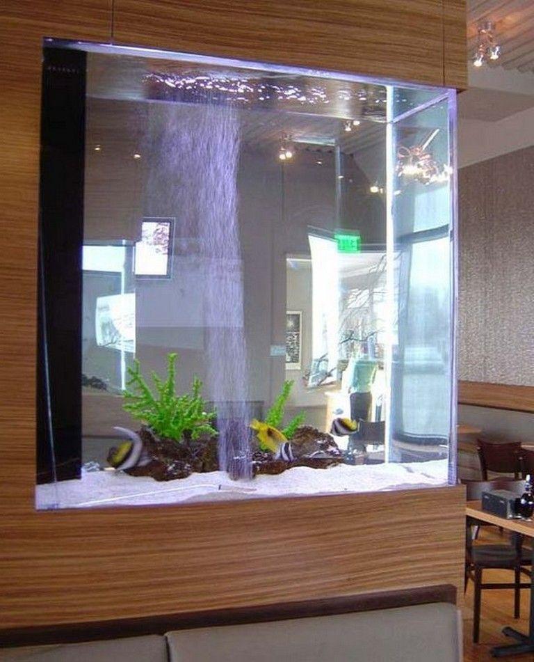21+ Stunning Indoor Aquarium Design Ideas For Inspiring