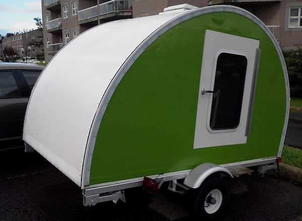 How to build your own ultra-lightweight Micro Camper Teardrop