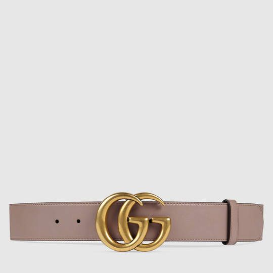 ad1d1988ada  420  size 85 Gucci Leather belt with Double G buckle