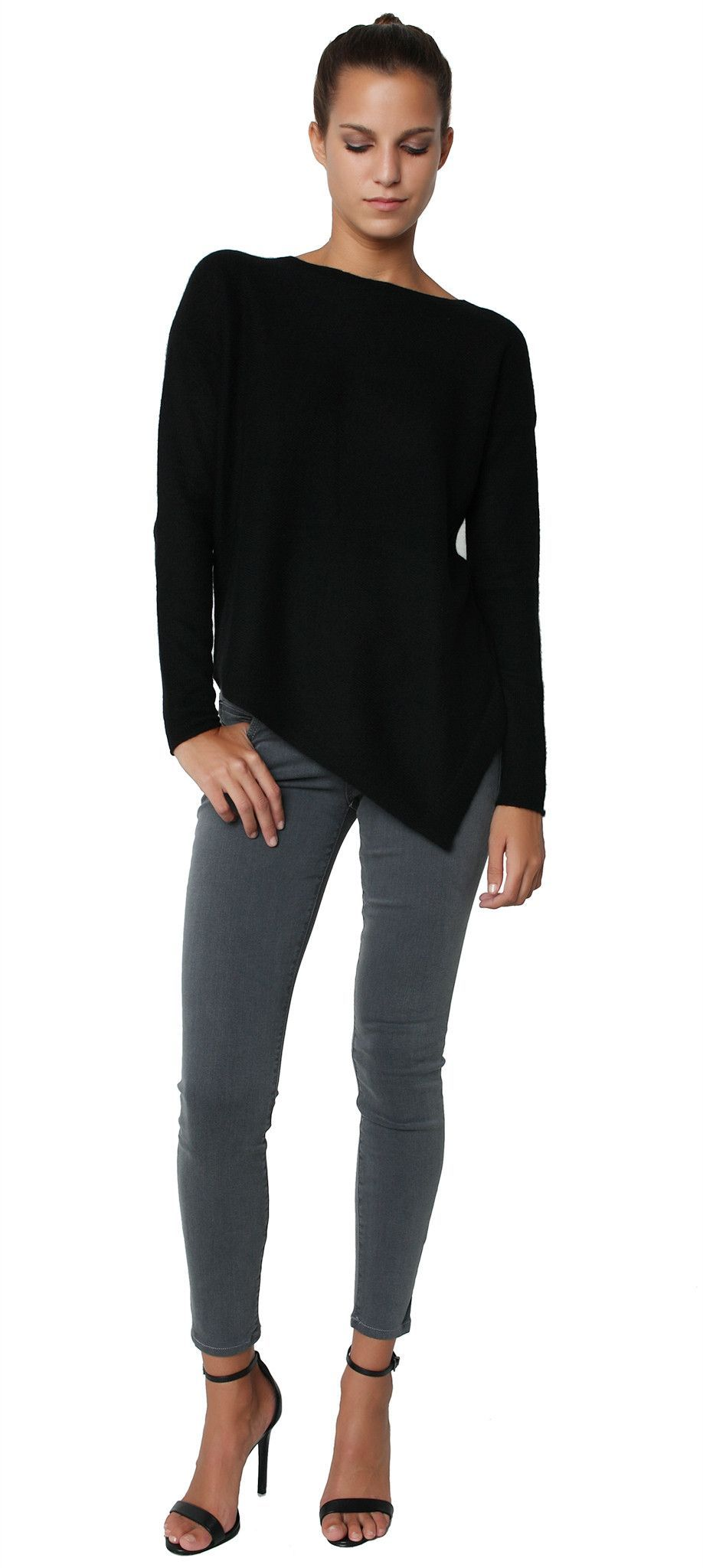 Angie Sweater Solid Black | MC ♥ New Arrivals | Pinterest | Solid ...