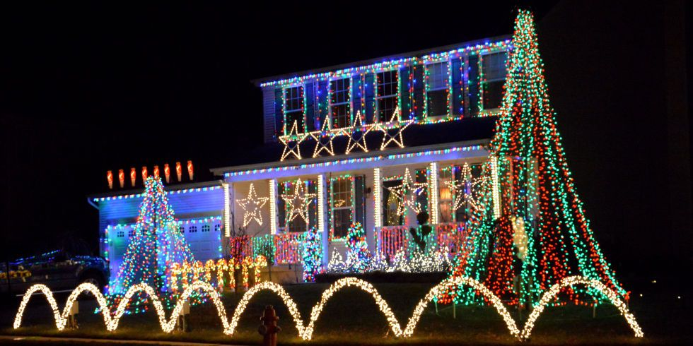 15 christmas light ideas that will top your neighbors house - Easy Outdoor Christmas Lights Ideas