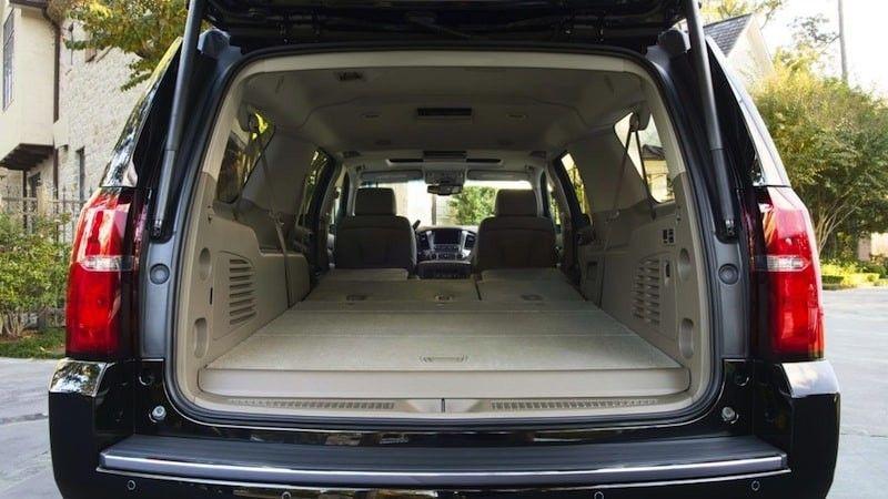 2016 Chevy Suburban Cargo Space Chevrolet Suburban Chevy