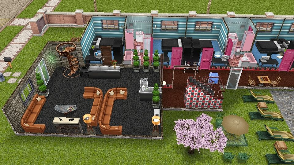 SimsFreeplay Hotel Idea 1