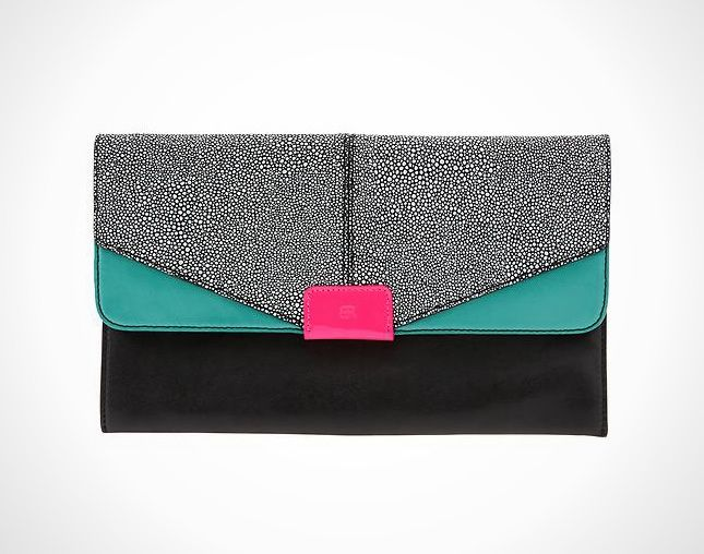 16 Classy and Colorful Clutches | Classy, Color blocking and Bag