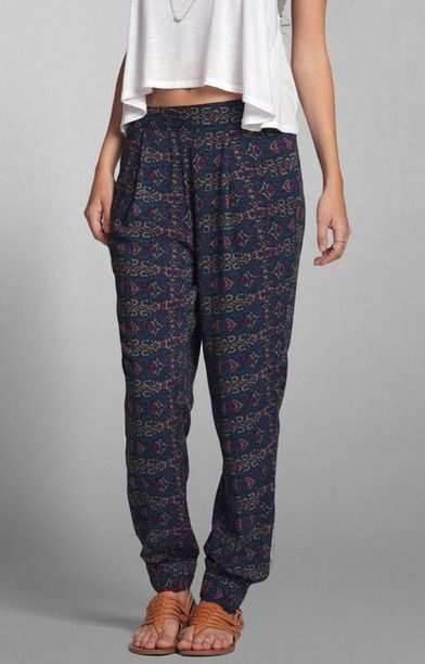 abercrombie and fitch hippie hose damen
