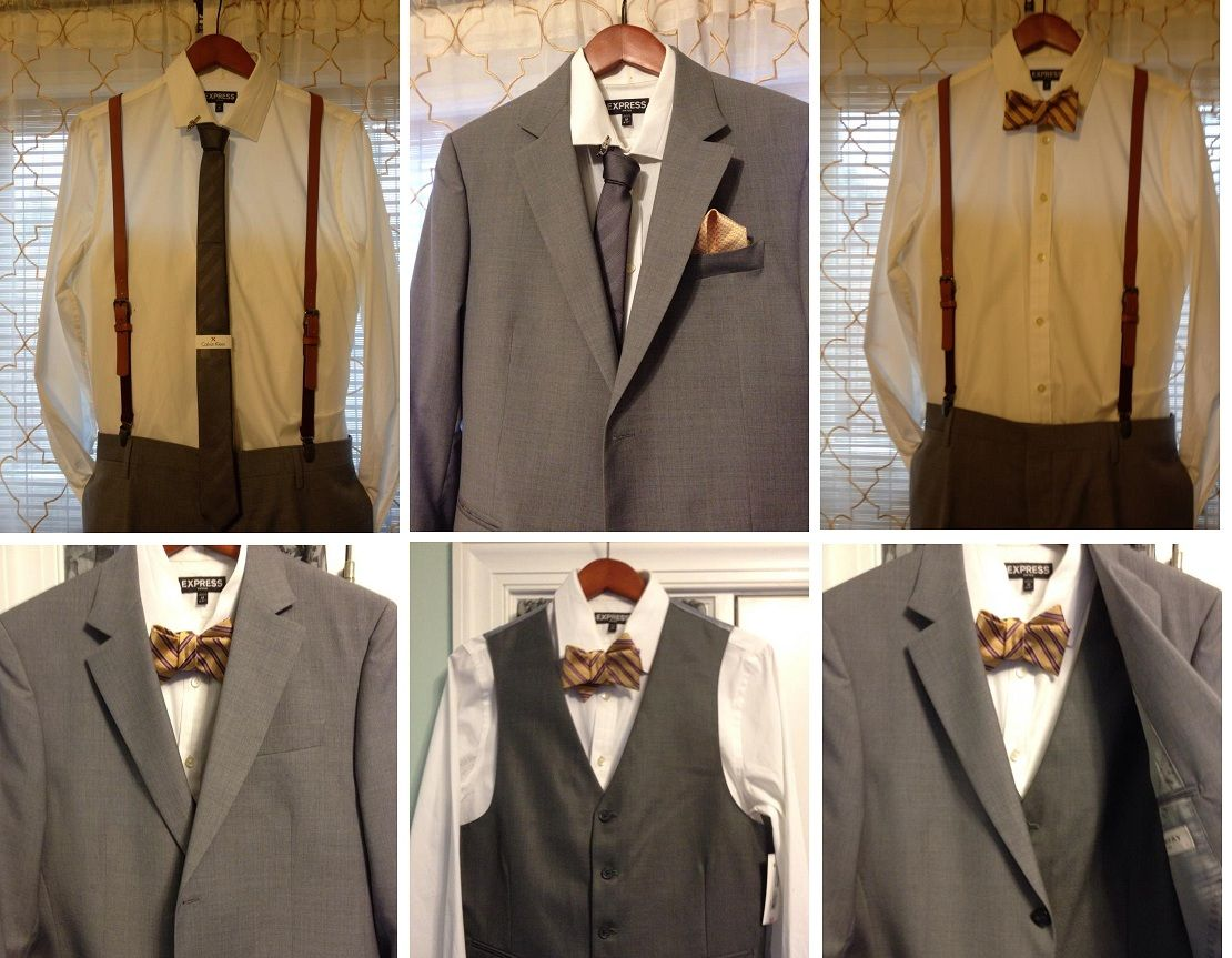 Gay Wedding Suit Options Gray and Yellow   Gay Wedding Ideas ...