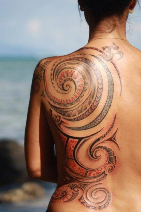 Tatuagens maori femininas nas costas tattoo pinterest tatoos tatuagens maori femininas nas costas altavistaventures Image collections