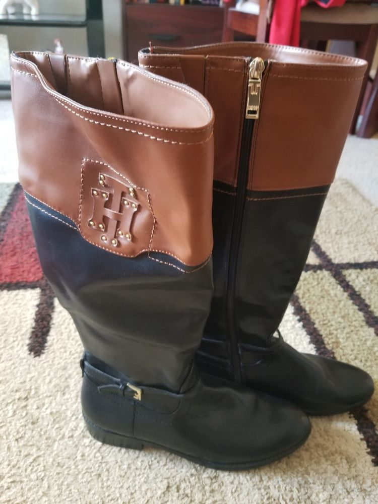 Botas de invierno para mujer de moda Tommy hilfiger  fashion  clothing   shoes  accessories  womensshoes  boots (ebay link) c6ff72e5db