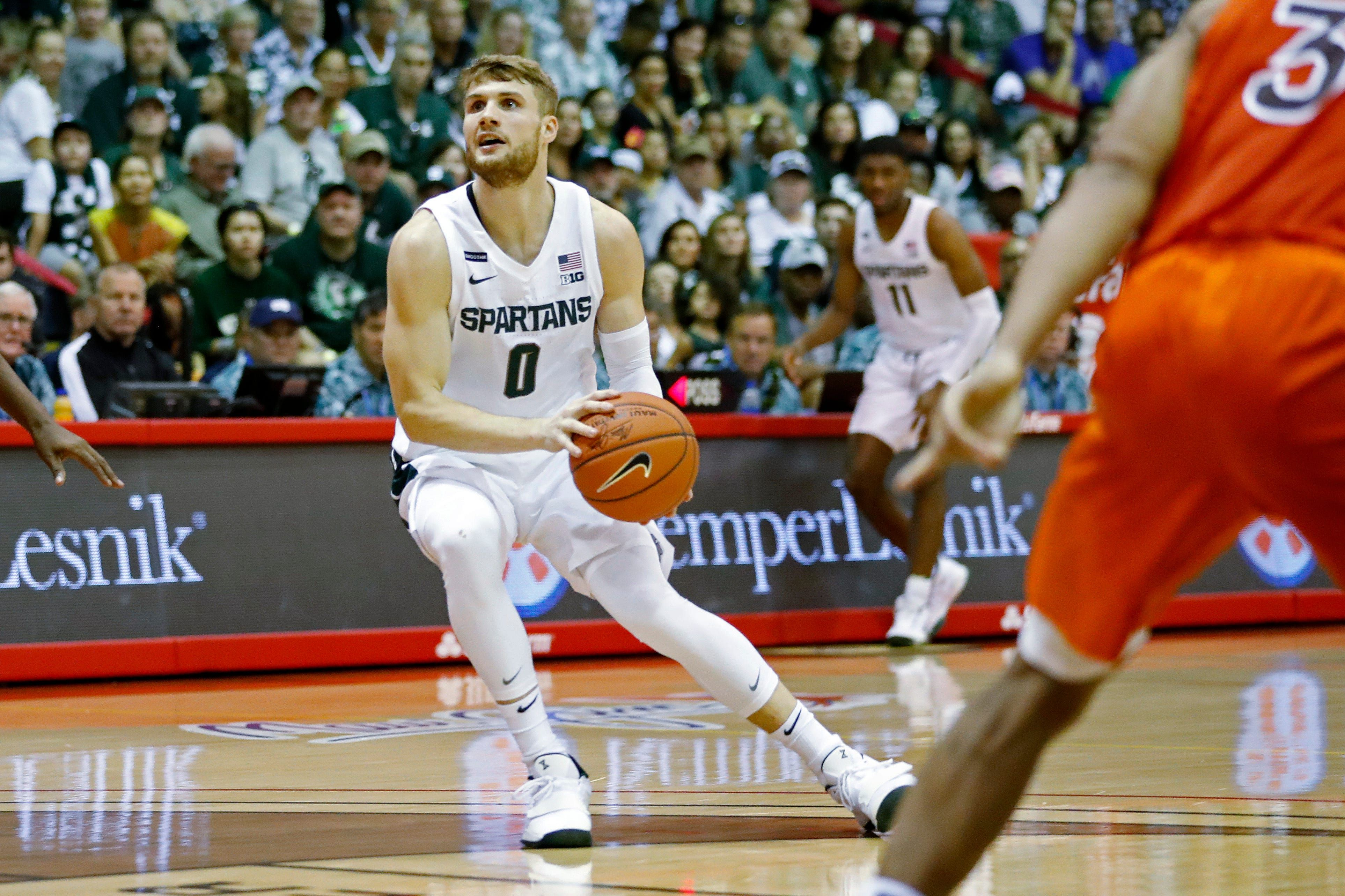 Michigan State basketball score vs. Bulldogs Live