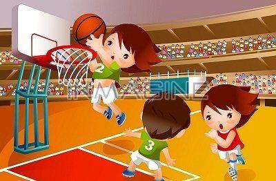 Cartoon Girls Basketball Bing Images Kids Fairy Tale Illustration Art For Kids