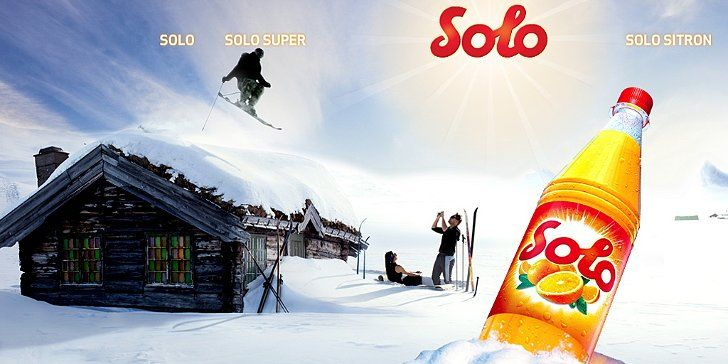 Solo - the best soda in the entire world! And even better, it's Norwegian ! Yeah :)