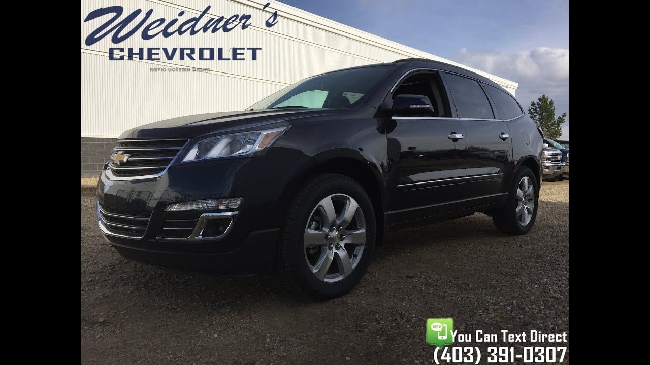 New 2017 Chevrolet Traverse Ltz 1lz Leather Dark Blue Stock