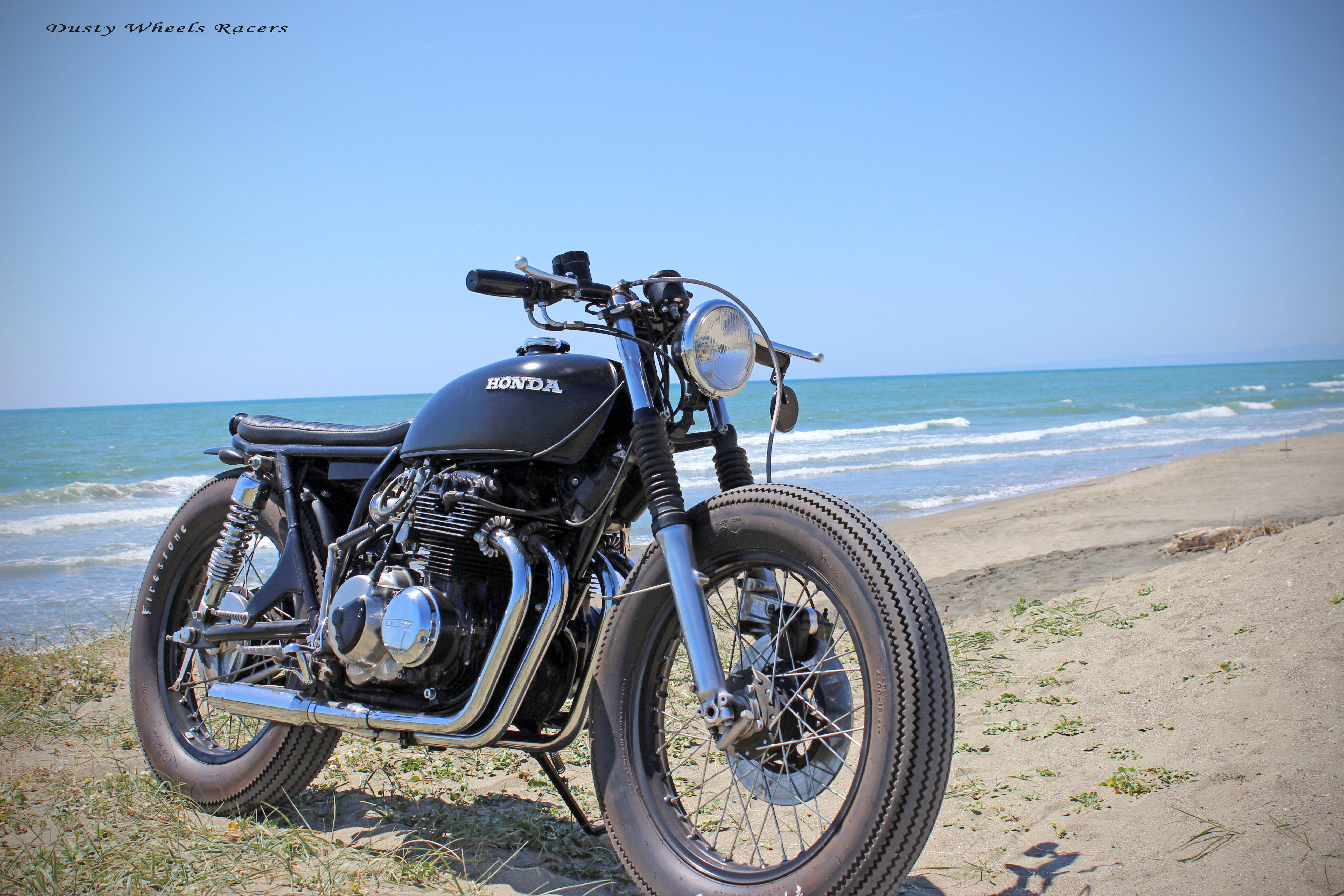 honda cb400 bratstylezf motorcycles italy - latina #caferacer
